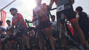 درّاجون مشاركون في التحدّي الكبير للدرّاجات في كيبيك/Radio-Canada/Elisa Serret