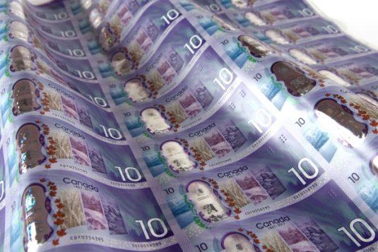 الورقة النقديّة الجديدة من فئة العشرة دولارات كنديّة/Bank of Canada