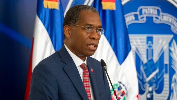 انطونيو رودريغ وزير خارجيّة هايتي في مونتريال/(AFP/Getty Images)
