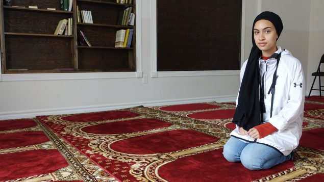 صوفيا علي المولودة لأب باكستاني في مدينة ايكالويت/ Radio-Canada/Marie-Laure Josselin