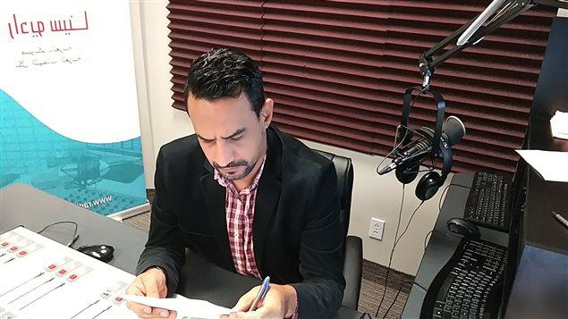 الأستاذ زهير طابا رئيس تحرير راديو سينا في مونتريال/زهير طابا