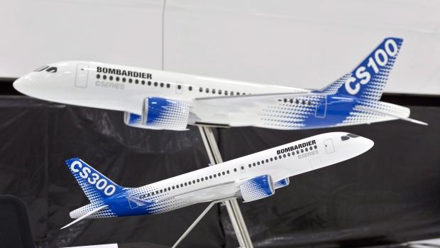 نماذج من طائرات سي سيريز/Paul Chiasson/CP