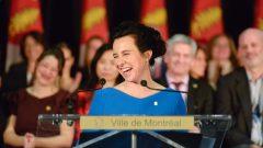 فاليري بلانت أدّت اليمين الدستوريّة كعمدة لمدينة مونتريال/Radio-Canada/Pascale Fontaine