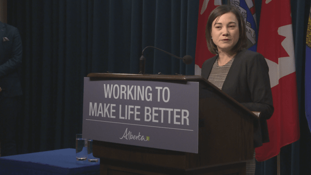 وزيرة البيئة في البرتا شانون فيليبس/Radio-Canada