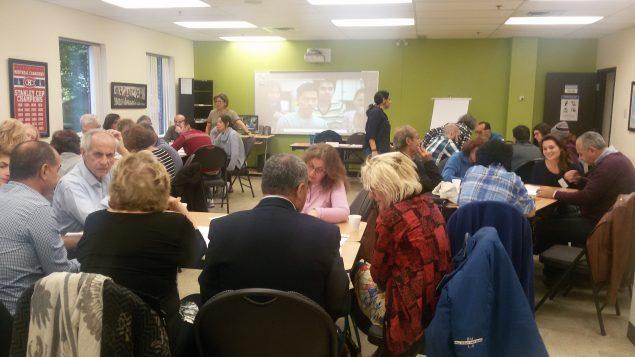 لقاء تأهيلي لتوأمة عائلات كيبيكيّة وسوريّة في كاري سان لوران/Cari Saint_laurent