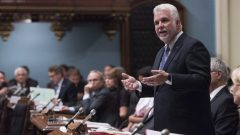 رئيس حكومة كيبيك في البرلمان/ La Presse canadienne/Jacques Boissinot