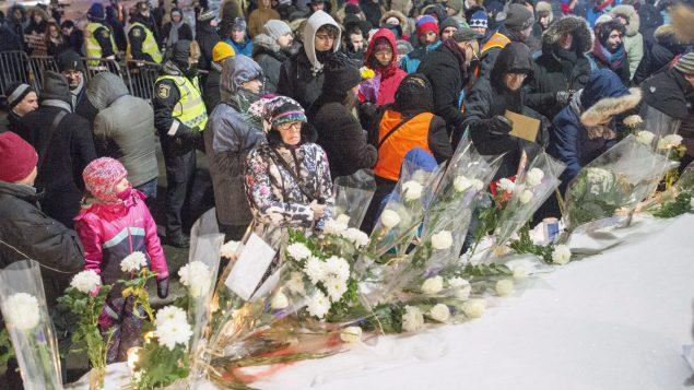 مشاركة شعبيّة حاشدة في الذكرى الأولى للاعتداء المسلّح على مسجد كيبيك الكبير/Ryan Remiorz/CP