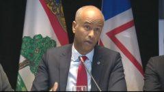 وزير الهجرة الكندي أحمد حسين جقوق الصورة: هيئة الإذاعة الكندية