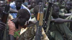 جنود أطفال في جنوب السودان/غيتي