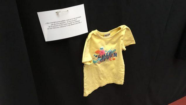 قميص إحدى المغتصبات/راديو كندا