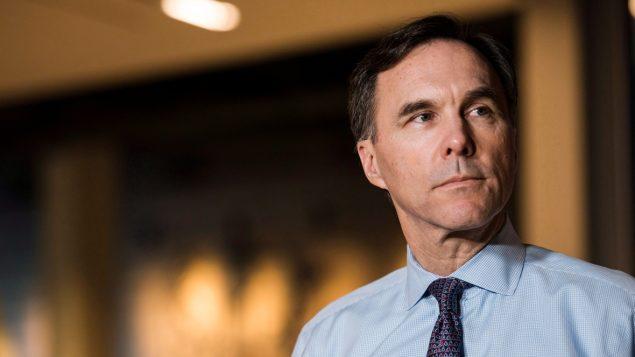 وزير المال الكندي بيل مورنو/Christopher Katsarov/CP