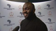 جيل ووانكو منظم اسبوع الموضة الافريقية، حقوق الصورة: هيئة الإذاعة الكندية