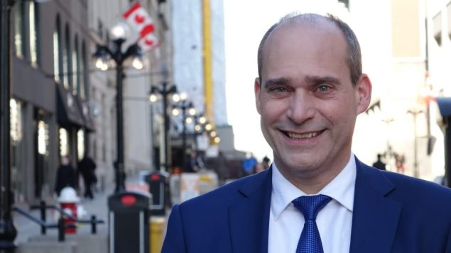 النائب في مجلس العموم الكندي عن الحزب الديمقراطي الجديد غي كارون/Radio-Canada