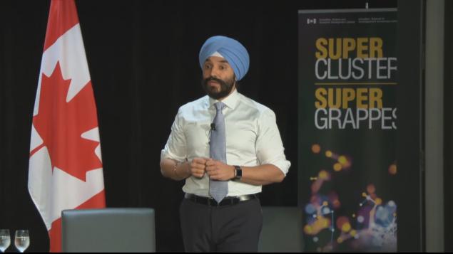 وزير التنمية الاقتصاديّة الكندي نافديب باينز/CBC/ هيئة الاذاعة الكنديّة