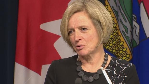 رئيسة وزراء مقاطعة البرتا راشيل نوتلي/CBC/هيئة الاذاعة الكنديّة