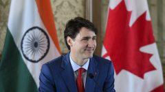 رئيس الحكومة الكنديّة جوستان ترودو شارك في مومباي في طاولة مستديرة لصاحبات الاعمال /Sean Kilpatrick/CP