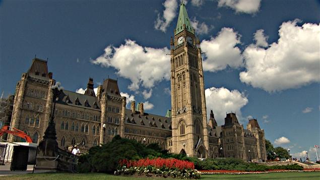 مبنى البرلمان الكندي في أوتاوا (أرشيف). Photo Credit: Radio-Canada / Paul Skene