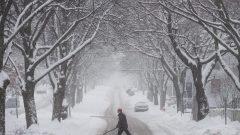 عاصفة ثلجيّة ضربت مدينة هليفاكس في 17-01-2018/Darren Calabrese/CP