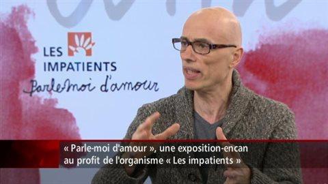 """المتحدث الرسمي لمعرض """"حدّثني عن الحب"""" جيمس هايندمان في تلفزيون هيئة الإذاعة الكندية"""