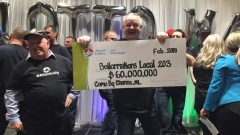 أكبر جائزة في تاريخ مؤسسة اليانصيب الوطني في الأطلسي، الصورة: هيئة الإذاعة الكندية/Stefan Theriault