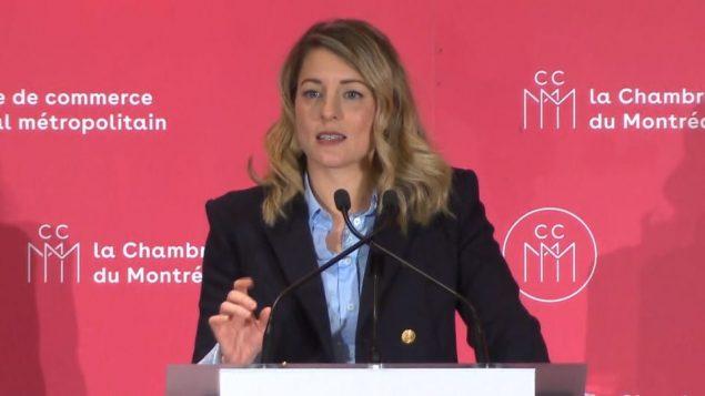 وزيرة التراث ميلاني جولي/راديو كندا