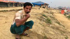 لاجئ من أقليّة الروهينجا في مخيّم في بنغلادش في تشرين الثاني نوفمبر 2017/Radio-Canada/Anyck Béraud