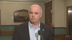 توم اوزبورن وزير المال في مقاطعة نيوفاوندلاند ولابرادور/CBC/Eddy Kennedy/هيئة الاذاعة الكنديّة