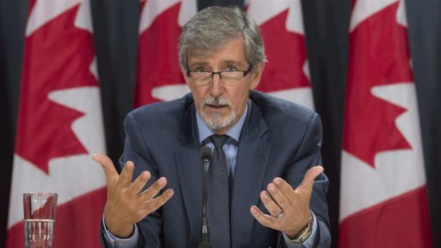 دانيال تيريان مفوّض حماية الحياة الخاصّة في كندا/Adrian Wyld/CP