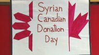 مبادرة التبرّع بالدم التي نظمها اللاجئون السوريون هي عربون شكر ووفاء لكندا حقوق الصورة: هيئة الإذاعة الكندية، Stephanie Blanchet