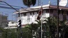 مقرّ السفارة الكنديّة في كوبا/Franklin Reyes/AP
