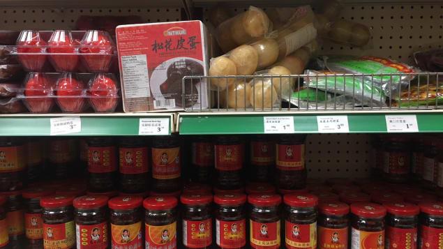 المأكولات الصينية الشهية والشهيرة والبهارات والصلصات في المحال التجارية/إليزا سيرريه/راديو كندا