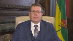 سكوت مو رئيس وزراء مقاطعة سسكتشوان/CBC News/هيئة الاذاعة الكنديّة