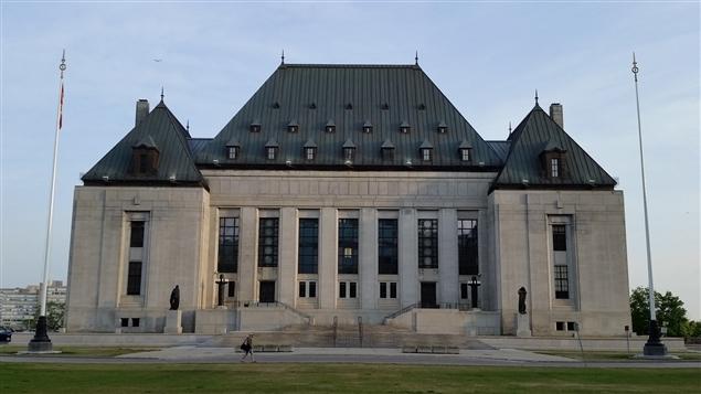 مقرّ محكمة كندا العليا في أوتاوا (أرشيف)/Radio-Canada / Jean-Sébastien Marier