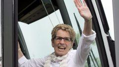 رئيسة حكومة أونتاريو كاثلين وين تزور مدينة أوتاوا في إطار الترويج لحملتها الانتخابية/راديو كندا