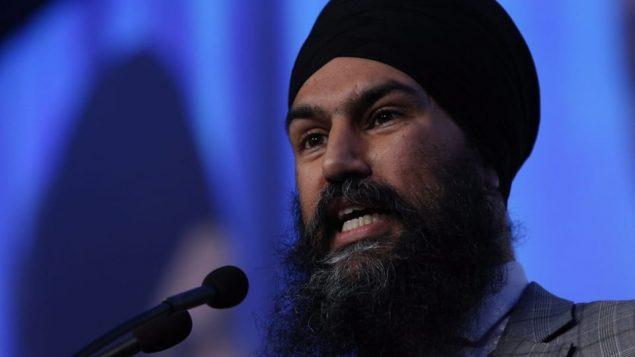 جاعميت سينغ زعيم الحزب الديمقراطي الجديد في كندا/CHAD HIPOLITO/CP