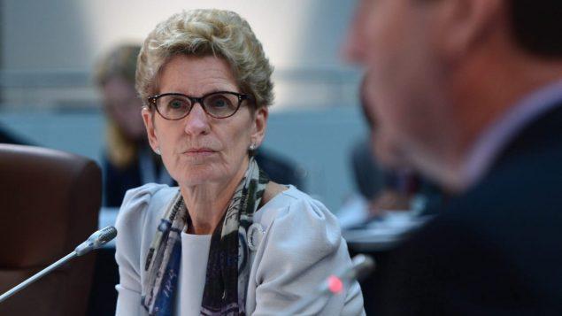 رئيسة حكومة أونتاريو كاثلين وين/راديو كندا
