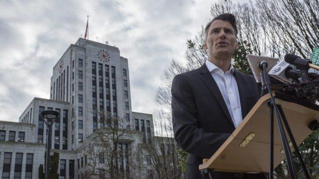 عمدة فانكوفر السابق غريغور روبرتسون لن يترشح مجددا لمنصب عمدة فانكوفر/راديو كندا