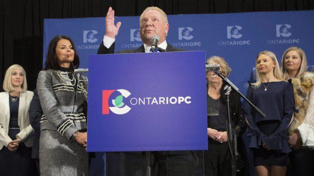 زعيم حزب المحافظين التقدمي المعارض في أونتاريو/راديو كندا