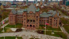 مقر الجمعية التشريعية برلمان أونتاريو الذي يتوجب عليه إقرار الموازنة العامة/راديو كندا