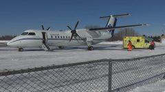 طائرة اسعاف تابعة لحكومة كيبيك/Radio Canada
