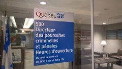مكتب مدير الملاحقات الجرميّة والجنائيّة/Radio-Canada/Alice Chiche