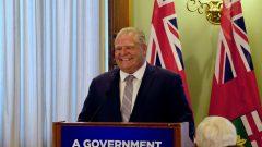 رئيس حكومة اونتاريو دوغ فورد المنتخب حديثا يرغب بتخفيض مجلس بلدية