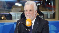 رئيس حكومة كيبيك زعيم الحزب الليبرالي فيليب كويار يعرب عن دعمه لموقف ترودو ويحذر من حرب تجارية تأكل الأخضر واليابس/راديو كندا