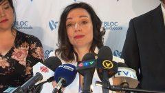مارتين ويليت زعيمة الكتلة الكيبيكية الاستقلالية النزعة تعلن استقالتها من الزعامة بعد تصويت ثلثي الأعضاء بنزع الثقة عنها/راديو كندا