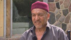 السيد أبو شيخ الذي تعرّض للترهيب والتخويف من قبل سائق شاحنة أمام منزله في مدينة ساسكاتون. حقوق الصورة: هيئة الإذاعة الكندية