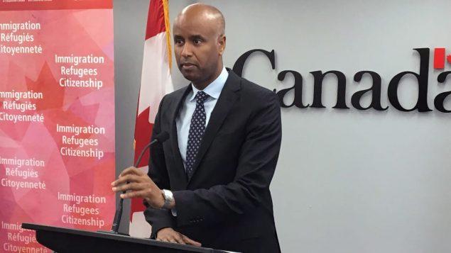 وزير الهجرة الكندي أحمد حسين/Radio-Canada