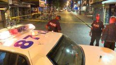 شرطة تورونتو ضربت طوقا أمنيّا في موقع حادثة إطلاق نار/ CBC/Tony Smyth/هيئة الاذاعة الكنديّة