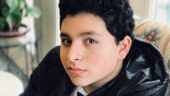 المراهق الكندي المصري نور المصري/ ايمان المصري