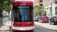 عربة قطار من انتاج شركة بومباردييه/CBC/David Donnelly/هيئة الاذاعة الكنديّة