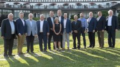 رؤساء حكومات المقاطعات والأقاليم الكنديّة عقدوا اجتماعا في سانت اندرو في مقاطعة نيوبرنسويك//Andrew Vaughan/CP